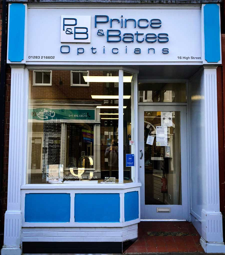 Prince and Bates, Swadlincote Practice. 16 High Street, Swadlincote, DE11 8HY